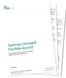 Opening a Managed Portfolio Account - PDF download